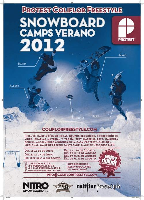 Como cada verano, Protest continúa la temporada en el mejor glaciar de Europa con una nueva edición de los Camps organizados por Protest Coliflor Freestyle. El objetivo, practic...