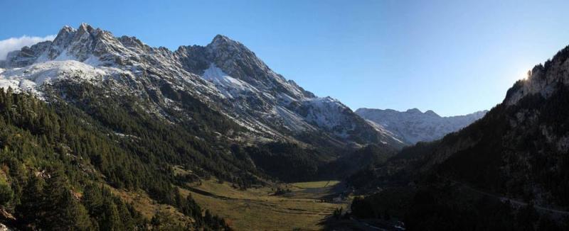 Las primeras nevadas llegan al Pirineo