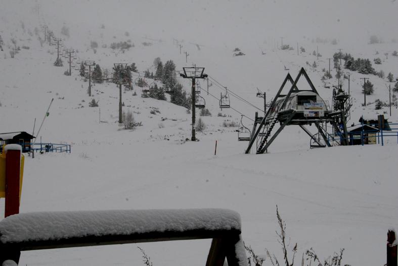 La estación de esquí de Porté-Puymorens abrirà este viernes día 22 de noviembre la zona central del complejo, las àreas de la Vignole y de la Mina.