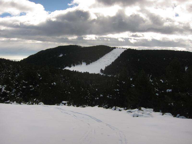 Salida de montaña por los alrededores de la antigua y mítica estación de Rasos de Peguera.