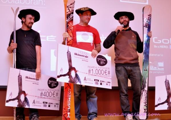 La segunda edición de Skimetraje, festival de cortos de ski y snow del Pirineo, llega a su fin tras cuatro días de charlas y proyecciones en Pamplona-Iruña.