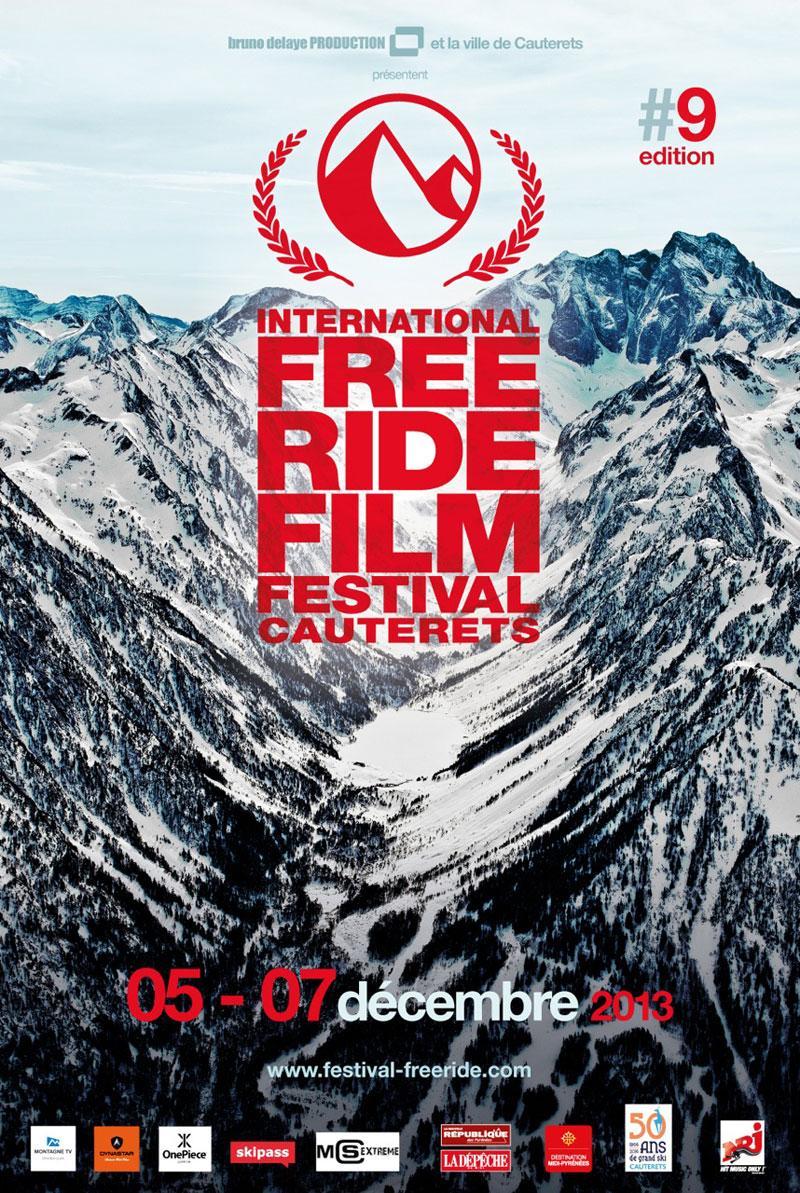 International Freeride Film Festival celebrará su novena edición del 5 al 7 de Diciembre en Cauterets, Francia. Durante 3 días, Cauterets será el hogar de uno de los principales eventos cinematográficos de sky y snowboard. Una recopilación de los mejores logros cinematográficos de este año.