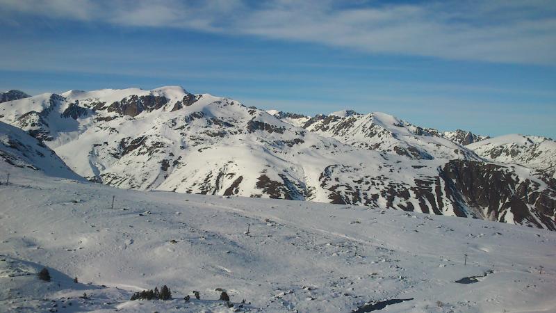 Informe de las condiciones de nieve en esta parte del Pirineo después de 3 semanas sin grandes nevadas.