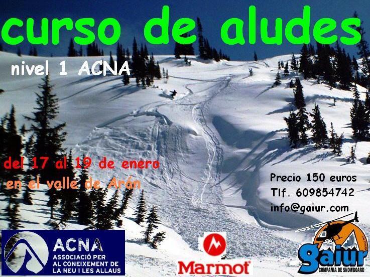 Por cuarto año consecutivo los compañeros de Gaiur nos presentan su curso básico de aludes orientado al snowboard de montaña.   Interpretar un boletín ...